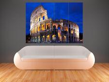 COLOSSEO ROMA ITALIA GRANDE Wall Art POSTER FOTO