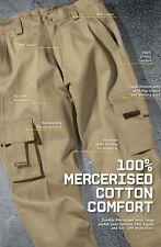 JB's Wear Multi Pocket Stout Pants W/ UPF Protection & bar tacked 100% Cotton