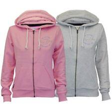 Ladies Sweatshirt Tokyo Laundry Womens Hooded Top Brushed Marl Flock Foil Print
