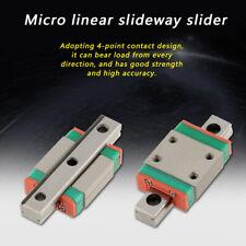 LWL7B Miniature Guida lineare 7mm Width + Slide Block 40mm/55mm/70mm