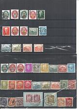 Deutsches Reich 1923 - 1932, Sammlungen aus MiNrn: 338 - 478 o, gestempelt o
