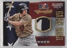2013 Panini USA Baseball Champions Game Gear Jerseys Prime #31 Kyle Farmer Card