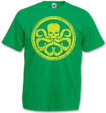 HYDRA VINTAGE LOGO I Camiseta T-Shirt Nick Marvel Agent ESCUDO Fury Comic Movie