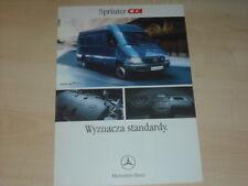 34856) Mercedes Sprinter CDI Polen Prospekt 200?
