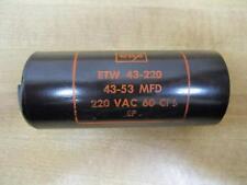 CDE ETW 43-220 Capacitor - New No Box