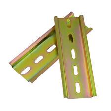 35mm DIN Rail Slotted Long 6cm 8cm 10cm 20cm 30cm Thickness 1mm Terminal Blocks