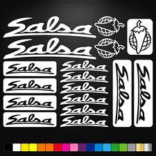 SALSA CYCLES  aufkleber sticker set abziehbild decal fahrrad bike mtb bmx road