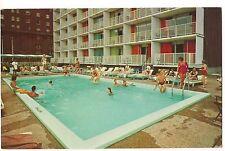 BELAIR MOTOR MOTELS Pool & Swimmers ST.LOUIS, MISSOURI Postcard Vintage MO
