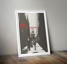 Leon Inspired Retro Movie Print/ Poster A4 A3 Digital Art, Film Poster, Fan Art