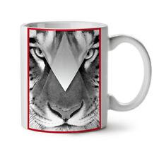Tiger Eyes NEW White Tea Coffee Mug 11 oz   Wellcoda