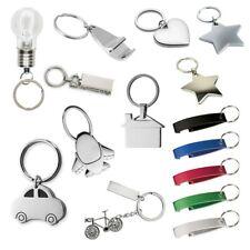 Keyring Blank Metal Keychain Handbag Charm Heart Star Key Ring Anniversary Gifts