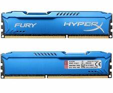 For Kingston HyperX 8GB 16GB 32GB PC3-14900 DDR3-1866MHz DIMM Blue Desktop RAM