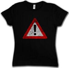 WARNING SIGN T-SHIRT Symbol Logo USA Caution Danger Biohazard Restricted Area