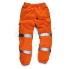 Standsafe Reflectante Alta Visibilidad Pantalón Deportivo trabajo rango de tamaño Naranja