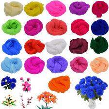 5Pcs 2.3M Nylon Stocking For Making Artificial Mesh Flower Arrangement Stamen