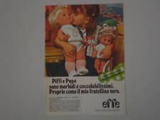 advertising Pubblicità 1976 BAMBOLE EFFE PIFFI e PUPO