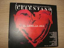 CD ADRIANO CELENTANO IL CUORE, LA VOCE CANZONI D'AMORE