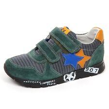 E2764 sneaker bimbo verde NATURINO scarpe suede/tissue shoe baby kid boy