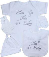 babyprem bébé Set Cadeau Baptême foi vêtements 5 pièces Coffret NB - 12 mois