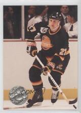 1991-92 Pro Set Platinum #240 Sergio Momesso Vancouver Canucks Hockey Card