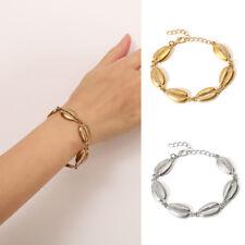 Gold/Silver Boho Women Summer Beach Jewelry Cowrie Sea Shell Bracelet Decor Gift