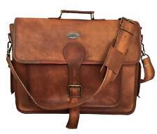Handbag hand stiched Leather Briefcase Shoulder Bag Tote Purse Messenger Satchel