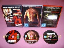 3 DVD's _ Experiment Killing Room & Book Of Blood & 21 Gramm _Mehr DVD's im SHOP