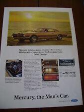 1967 MERCURY COUGAR   ***ORIGINAL VINTAGE AD***