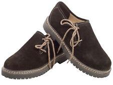 Haferlschuhe Trachtenschuhe dunkelbraun altsalzburg Tolles Fußbett Leder Schuhe
