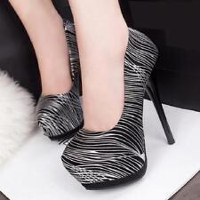 Platform Peep Toe Pumps High Heels