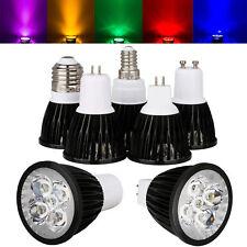 Dimmable Epistar LED Spotlight Bulb 9W 12W 15W E12 E14 E27 GU10 MR16 White Lamp