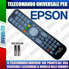 TELECOMANDO UNIVERSALE EPSON CLICCA SUL IL TUO MODELLO LO RICEVERAI GIA PRONTO