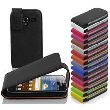 FLIP Housse Etui Coque de Protection Simli Cuir pour Samsung Galaxy case cover