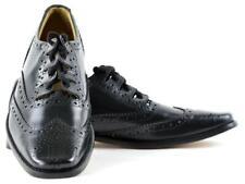 Contemporary Square Toe Fashion Ghillie Brogue Kilt Shoes