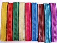 B84 Hübsche Borte in verschiedenen  Farben,50mm breit,lfm