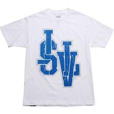 $30 JSLV Letterman Vintage Tee (white) fashion shirt