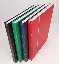 ALBUM FRANCOBOLLI stockbook A4 con 32 PAGINE BIANCHE - £ 10.95 ciascuno o 3 per £ 29.50