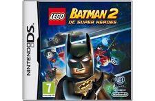 LEGO Batman 2: DC Super Heroes (Nintendo DS, 2012) with instruction book.