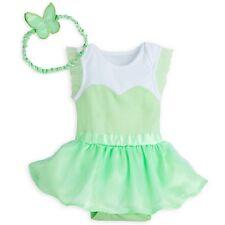 Disney Store Tinkerbell Bodysuit Costume Baby Sz 0-3M 6-12M 12-18M 18-24M A20NWT