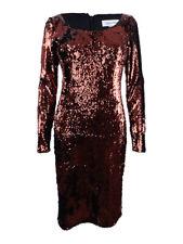 Calvin Klein Women's Sequined Sheath Dress