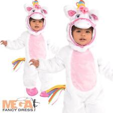 Mystical Unicorn Pony Baby Fancy Dress Fairytale Animal Toddlers Costume 0-36 M
