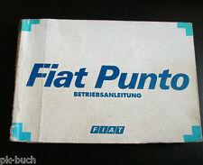 Betriebsanleitung Fiat Punto Stand 1995