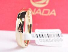 1 Trauring Ehering Hochzeitsring Gold 585 - Breite 4mm - Sonderangebot - Top !