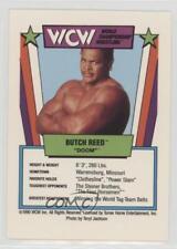 1990 WCW Slam-a-Rama Card Game Butch Reed (Pin)