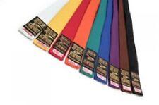 Plain Coloured Grading Belts 320CM Big Large Karate Judo Taekwondo Adults Long