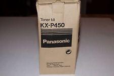 Genuine Panasonic OEM KX-P450 Toner Kit for KX-P4450 & Panafax UF-750