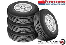 4 Firestone Transforce HT LT265/75R16 123/120R OWL E Heavy Duty All Season Tires