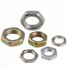 New listing Hexagon Half/Lock/Thin Nuts Fine Pitch Thread Hex Nuts M7 M8 M9 M10 M12 M14 M16