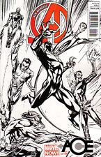 NEW AVENGERS (2012) #1 - Marvel Now! - J. Scott Campbell SKETCH Cover 1:150