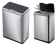EKO Mirage Sensor Bin Mülleimer Edelstahl matt FPP 30 45 oder 2x 20L Mülltrennen